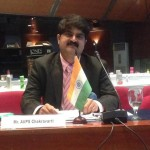 Chakravarthi AVPS at APF board meeting